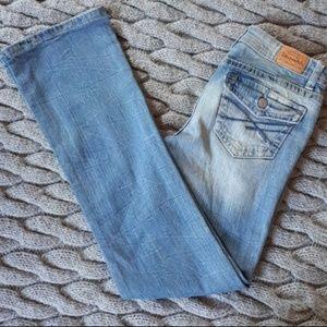Aeropostale Boot Cut Light Wash Jeans